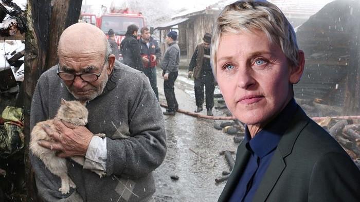 Photo of ABD'li ünlü komedyen Ellen Degeneres'in 83 yaşındaki Ali Meşe paylaşımı olay oldu