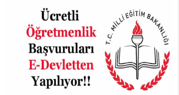 Photo of Ücretli öğretmenlikte sistem değişti! e-Devlet başvurusunu unutmayın!