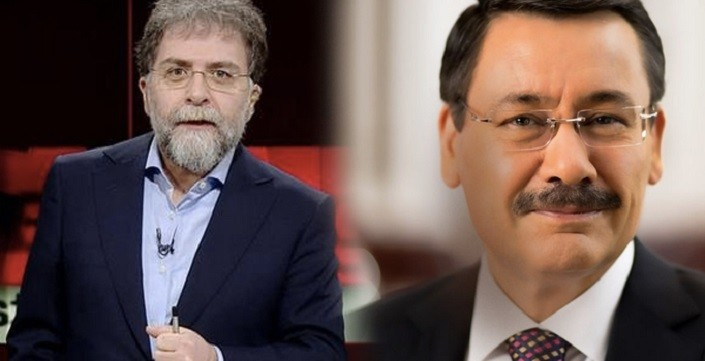 """Photo of Ahmet Hakan'dan Melih Gökçek'e La Casa De Papel sorusu: """"Bir cevap ver hele!"""""""