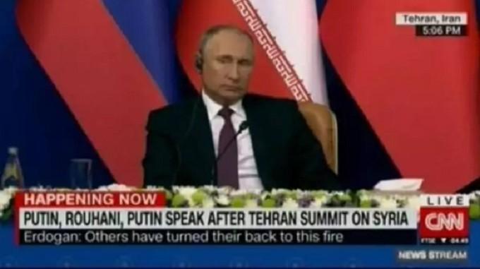 Photo of Russia Today, CNN International'ın Tahran Zirvesi'ndeki hatasıyla dalga geçti