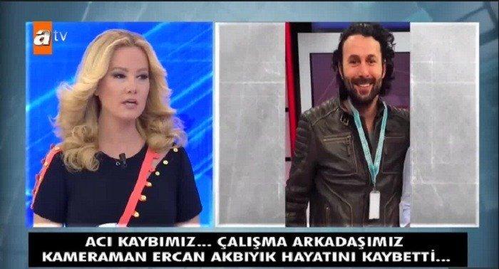 Photo of Müge Anlı'nın ekibinde çalışan kameraman Ercan Akbıyık hayatını kaydetti
