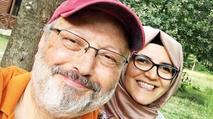 Photo of Katledilen Cemal Kaşıkçı'nın nişanlısı Hatice Cengiz ilk defa konuştu