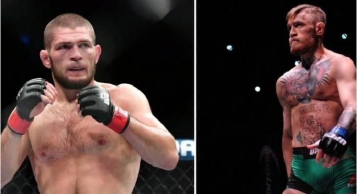 Photo of Dağıstanlı dövüşçü Nurmagomedov, Müslümanlara terörist diyen McGregor'a kafesi dar etti