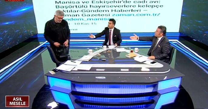 Photo of Cihangir İslam Akit TV'de canlı yayını terk etti