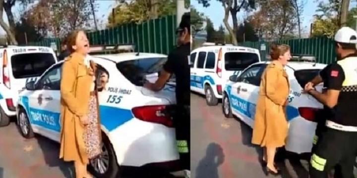 Photo of Trafik polisinin cezası karşısında sinir krizi geçiren akademisyen TGRT Haber'e konuştu