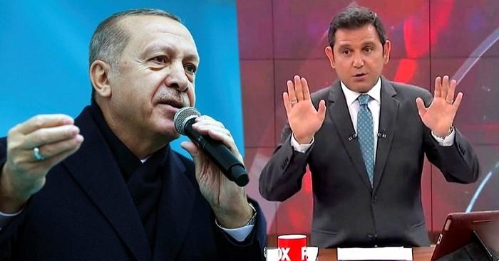 Photo of Fatih Portakal'dan Cumhurbaşkanı Erdoğan'a cevap