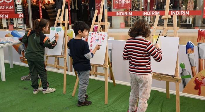 Photo of Bir Tablo Bin Fırça projesi Mersinlileri sanatla buluşturuyor