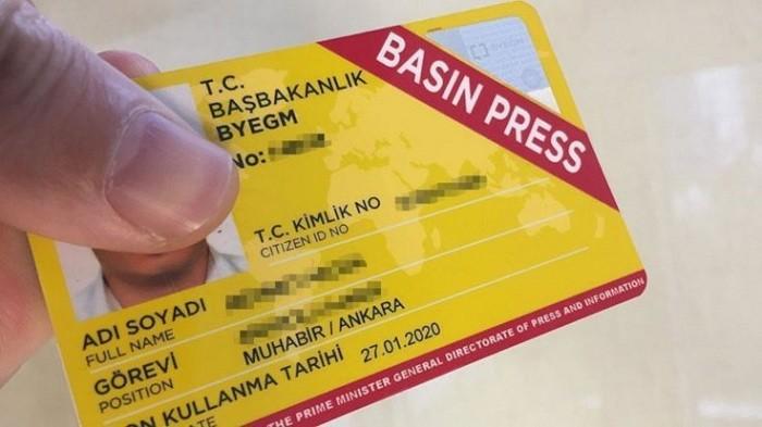 Photo of Basın kartları ile ilgili flaş gelişme…Cumhurbaşkanlığı tarafından duyuruldu