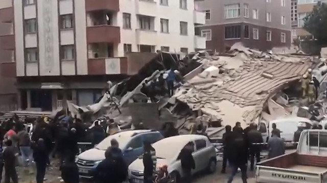 Photo of İstanbul Kartal'daki 6 katlı bina neden çöktü?