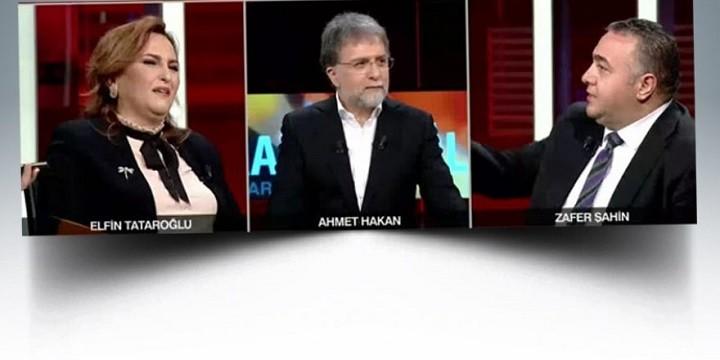 Photo of Ahmet Hakan'ın şaşkın bakışları arasında stüdyoyu terk etti