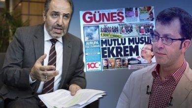 """Photo of Güneş'in """"Mutlu Musun Ekrem"""" başlıklı haberine AK Parti milletvekilinden tepki"""