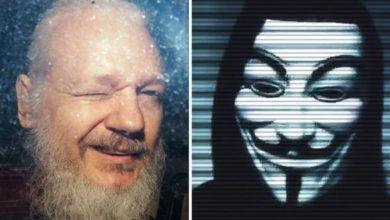Photo of Hacker grubu Anonymous, Julian Assange'ın tutuklanması nedeniyle alarma geçti