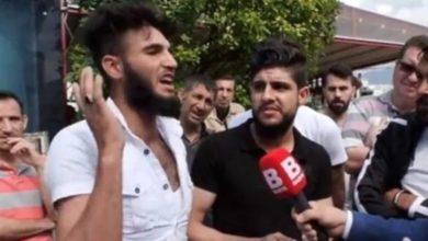 Photo of Sokak röportajında 'kafa keseceğim' diyen Suriyeli ile ilgili flaş gelişme