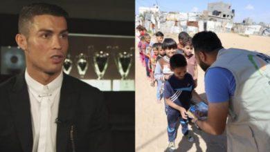 Photo of Ronaldo'dan örnek davranış…1.5 milyon euro bağışladı
