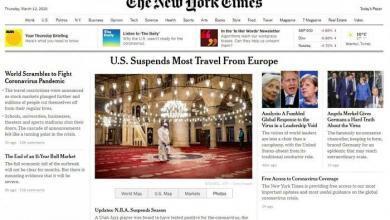 Photo of Koronavirüs haberinde İstanbul fotoğrafı kullandı…The New York Times'tan aşağılık algı operasyonu