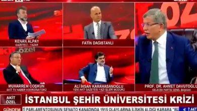 Photo of Akit TV'de Ahmet Davutoğlu ve Ali İhsan Karahasanoğlu arasında yüksek gerilim